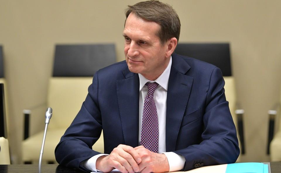 Сергей Нарышкин заявил, что у России есть доказательства отсутствия токсичных веществ в организме Навального