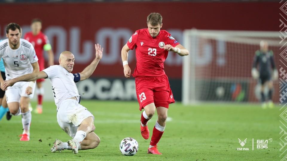 В «матче века» сборная Беларуси уступила Грузии