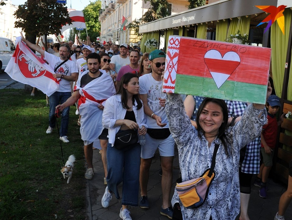 Акции протеста в Беларуси длятся уже два месяца