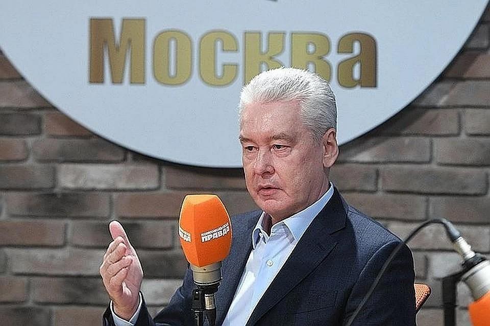 Мэр Москвы Сергей Собянин.