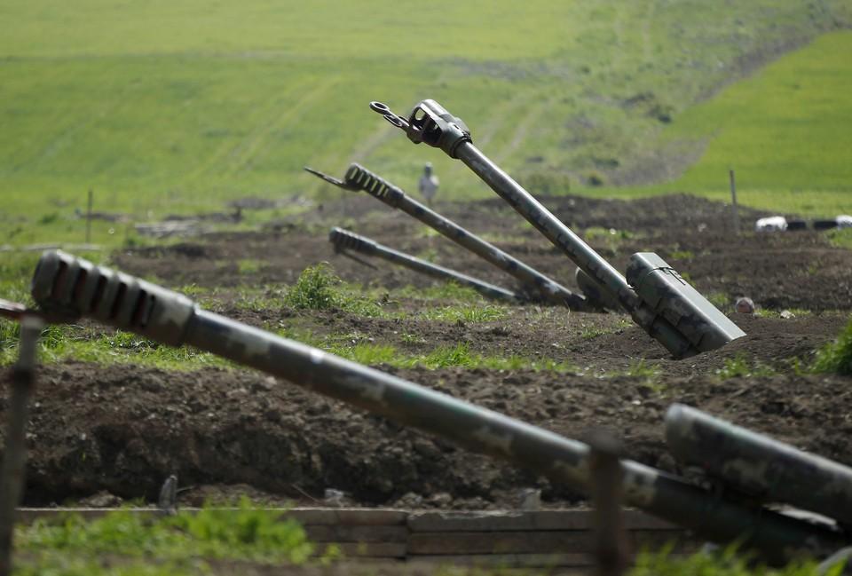 Бои на линии соприкосновения в Нагорном Карабахе начались 27 сентября