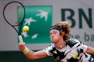 Теннисист Андрей Рублев попал в топ-10 рейтинга АTP