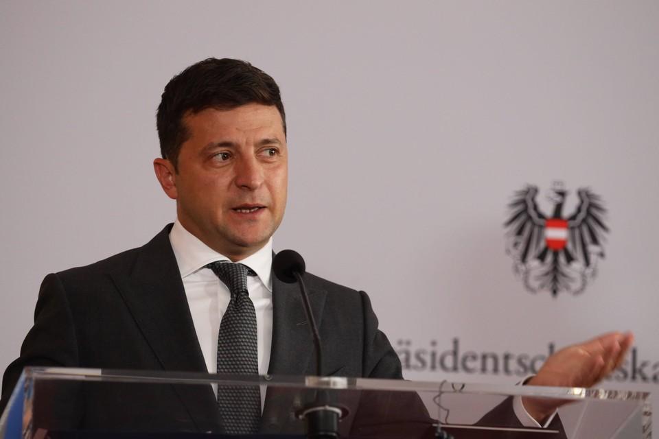 Зеленский заявил о возможной отставке из-за войны в Донбассе