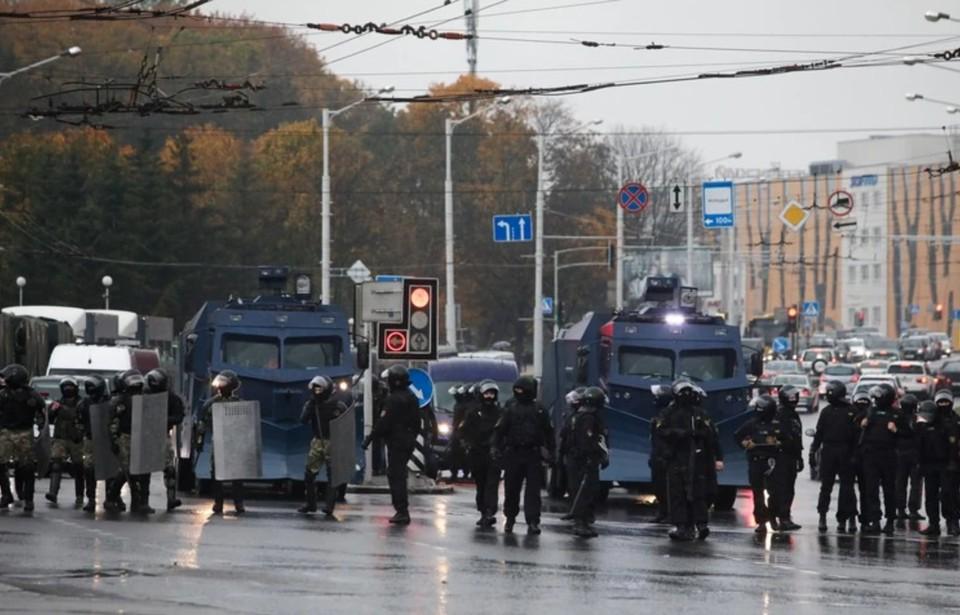 В МВД заявили, что силовики не уйдут с улиц, пока в Белоруссии не возобновится порядок