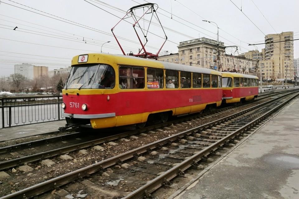 До весны скоростные трамваи будут ездить от Ельшанки до стадиона Монолит.