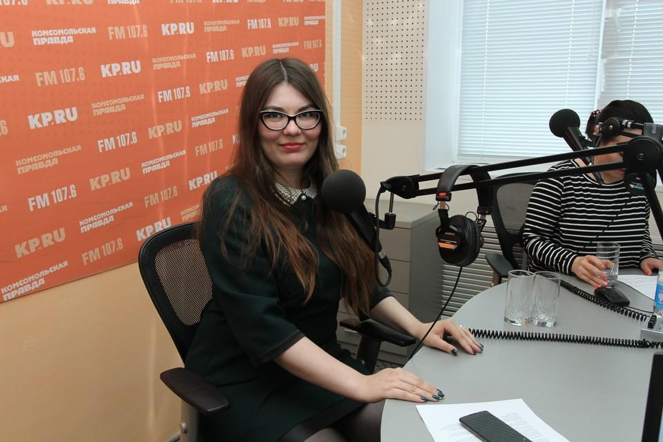 Журналист Ульяна Колмогорова