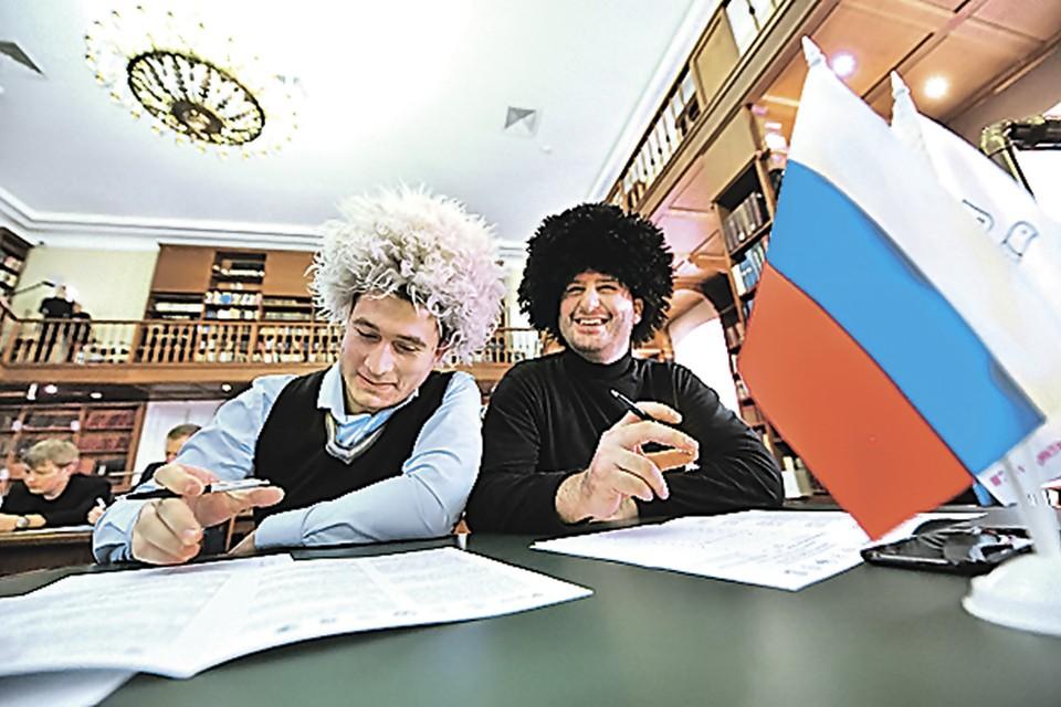 Так в каком языке 66 букв? Фото: Сергей КИСЕЛЕВ/Агентство городских новостей «Москва»