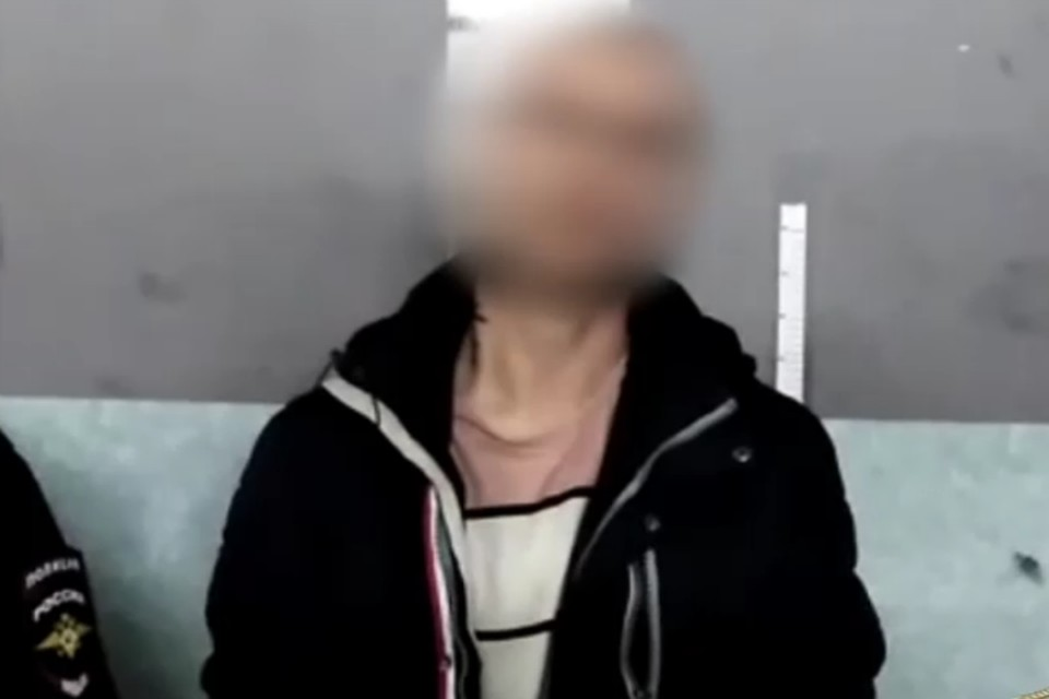 Тот самый грабитель, который напал на почтальона. Фото: ГУ МВД России по Иркутской области.