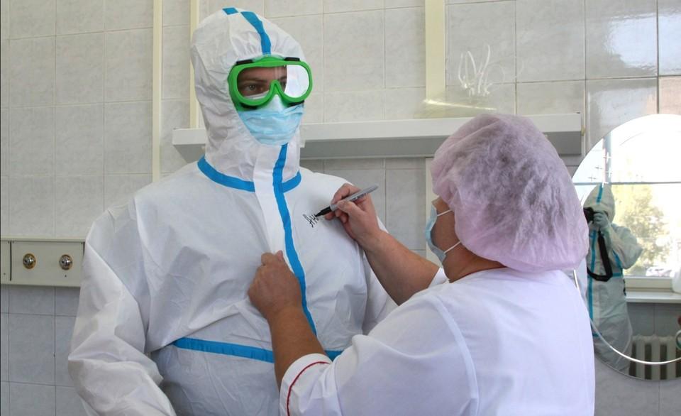 Во Владимирской области не хватает врачей для работы в «красной зоне»