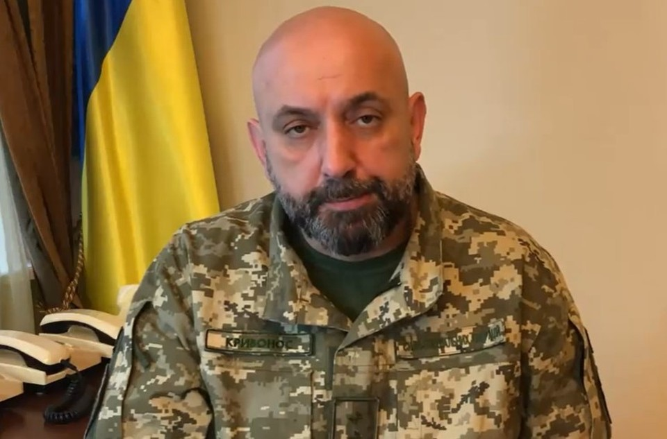 Генерал ВСУ Сергей Кривонос.