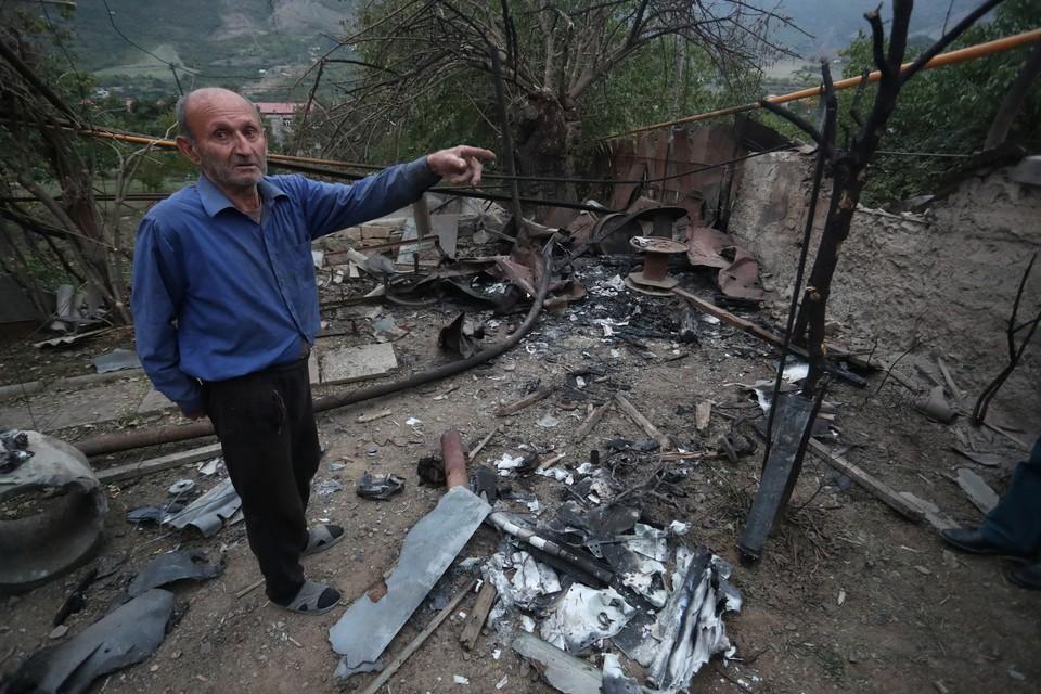 C начала возобновления боев в Нагорном Карабахе между Арменией и Азербайджаном уже во второй раз сорвалось гуманитарное перемирие