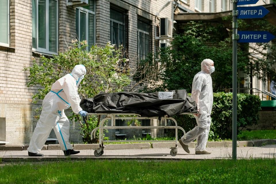 В Петербурге продолжают гибнуть от коронавируса