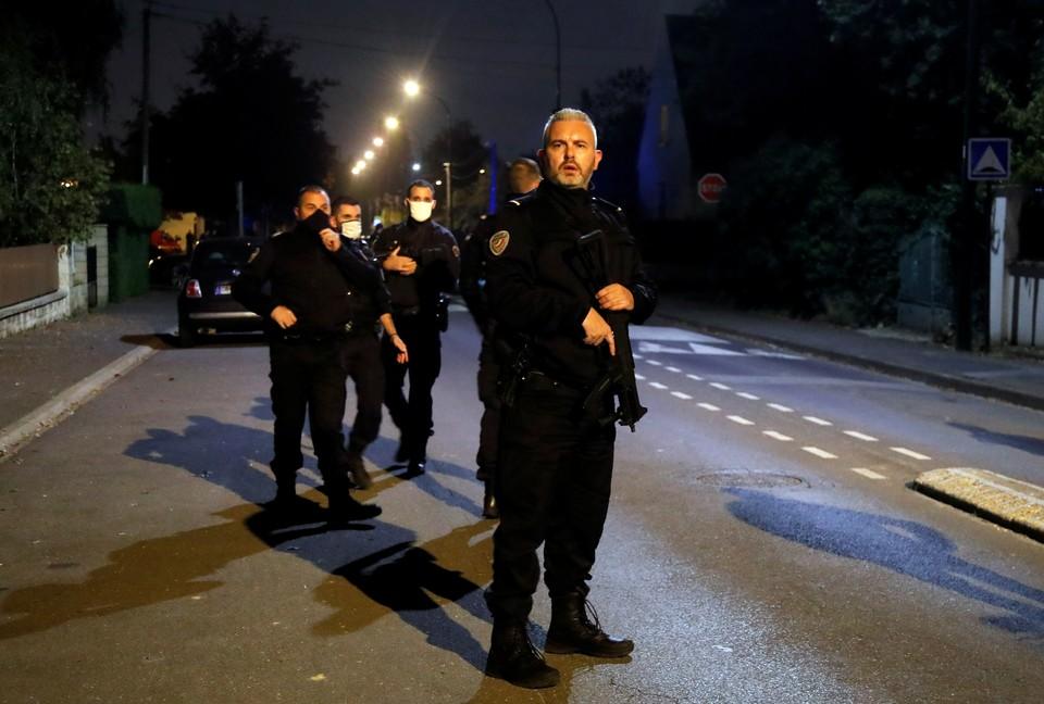 Убийство произошло вечером 16 октября в пригороде Парижа