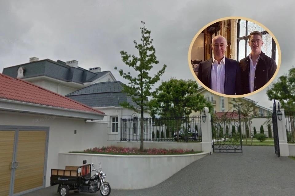 Ранее суд отобрал у Алхаса Дерева роскошный особняк почти в тысячу квадратов. Фото: Google Maps/соцсети