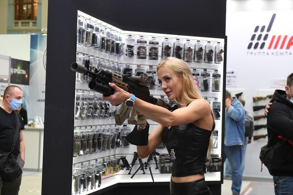 В Москве прошла большая выставка оружия и товаров для охоты