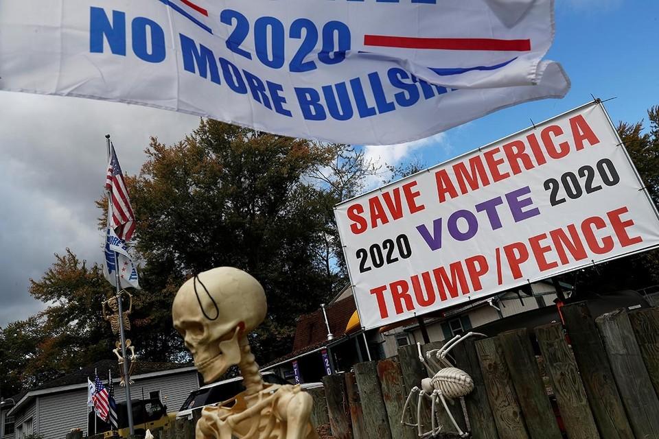 Накануне президентских выборов, запланированных в США на 3 ноября, политическая ситуация там накаляется.