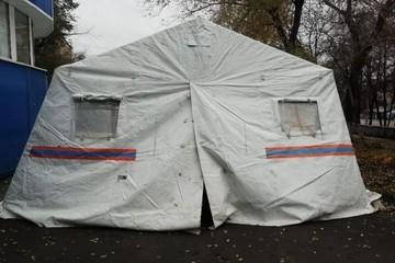 Тепловую пушку похитили из палатки МЧС возле поликлиники в Кемерове и сдали в ломбард