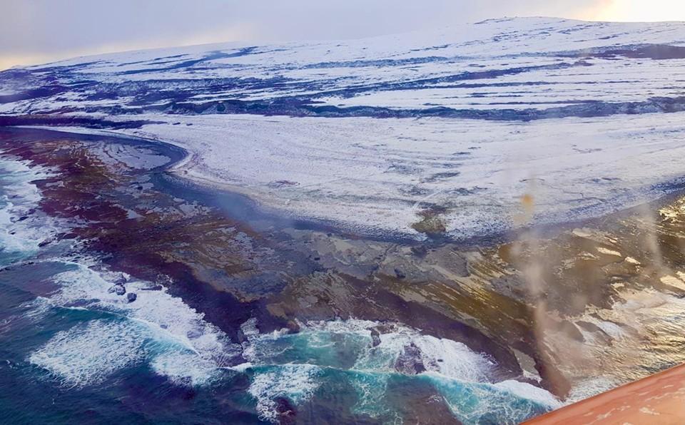 Спасатели обследовали береговую линию губы Вайда. Фото: МЧС по Мурманской области