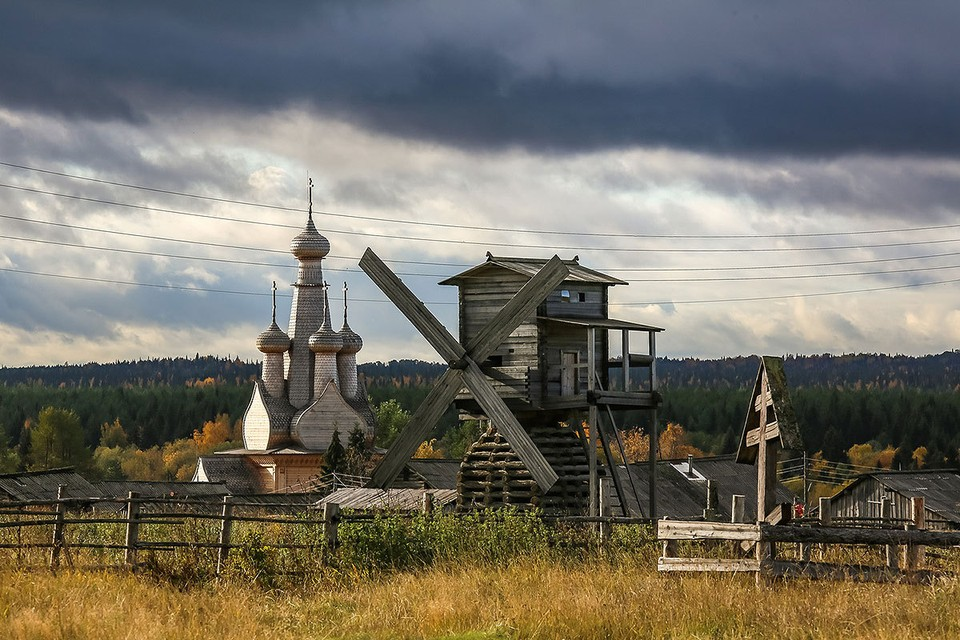 В России найдена деревня великанов