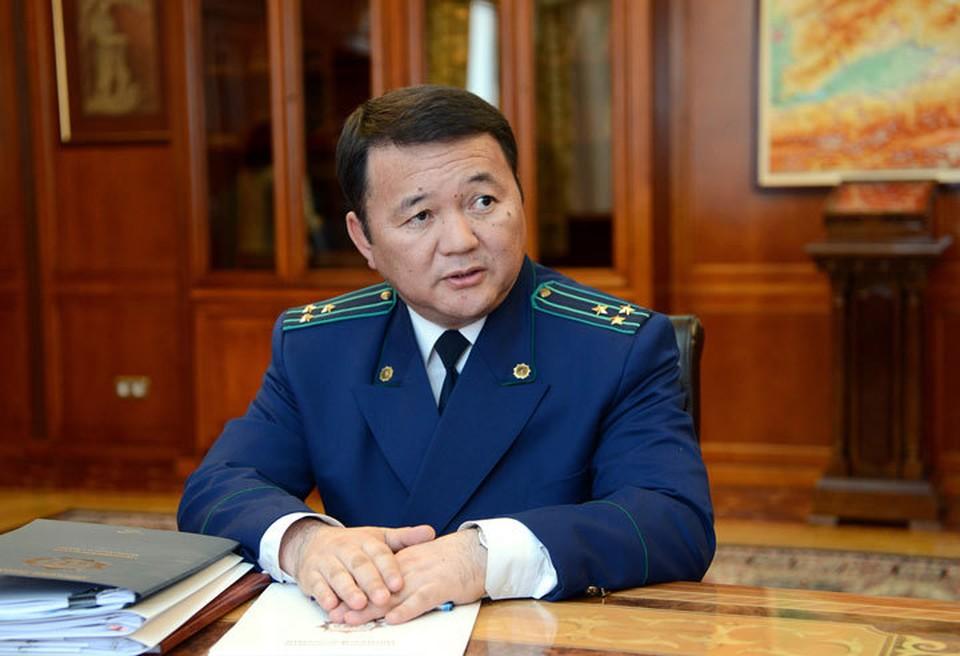 Генпрокурор Откурбек Джамшитов подал в отставку.
