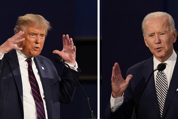 На предстоящих дебатах Трампу и Байдену смогут отключать микрофоны