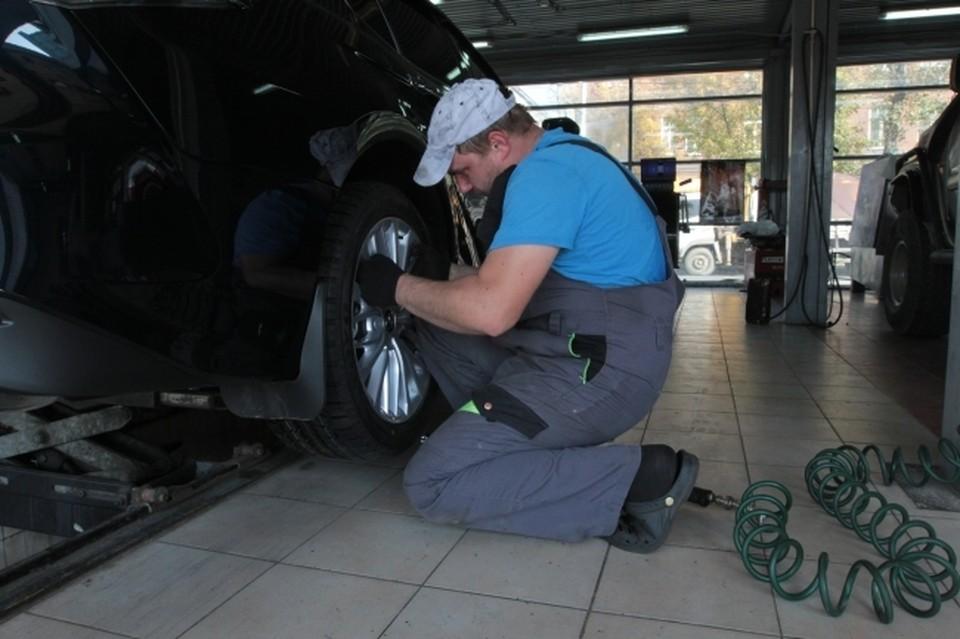 Минтранс рекомендует автовладельцам сменить резину на машине