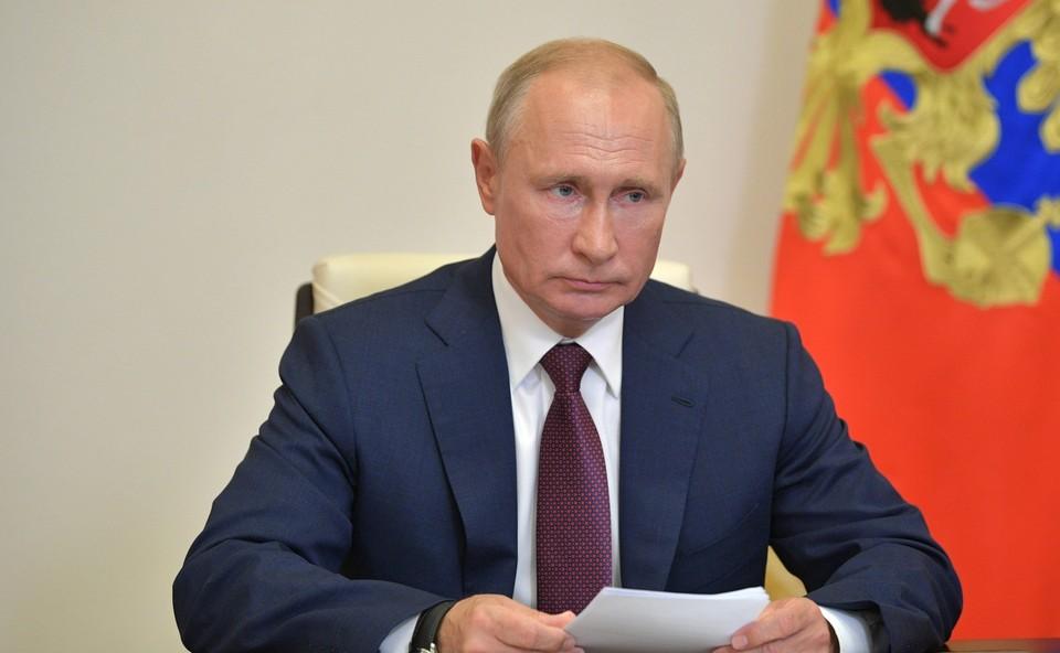"""Путин подчеркнул, что представляемые РСПП компании """"завязаны на сложные, кооперационные и торговые цепочки как в России, так и во всем мире"""""""