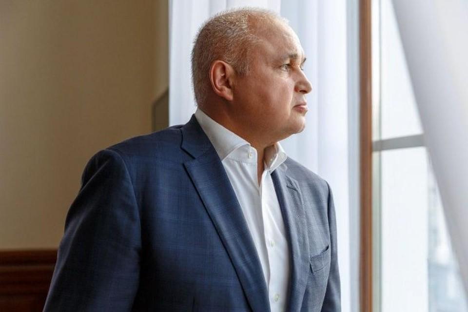 У главы Кузбасса Сергея Цивилева выявили симптомы коронавируса. ФОТО: администрация правительства Кузбасса