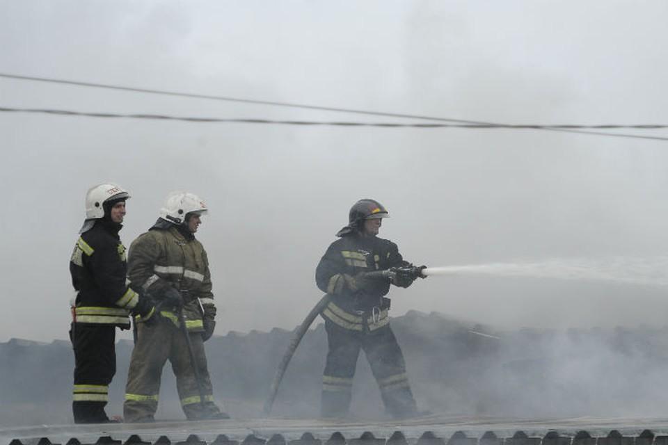 Под Ярославлем ночью загорелся кадетский корпус частной гимназии