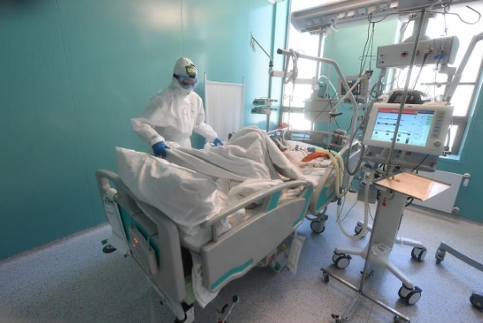 Пациенты с высоким поражением легких не могут попасть в больницу.