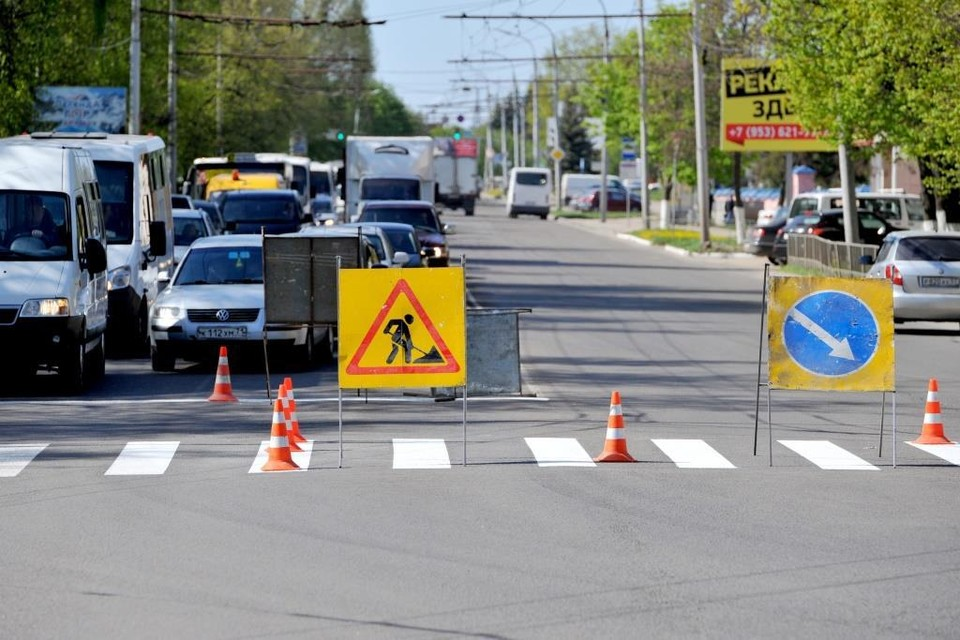 В Орле ограничат движение транспорта в Заводском районе