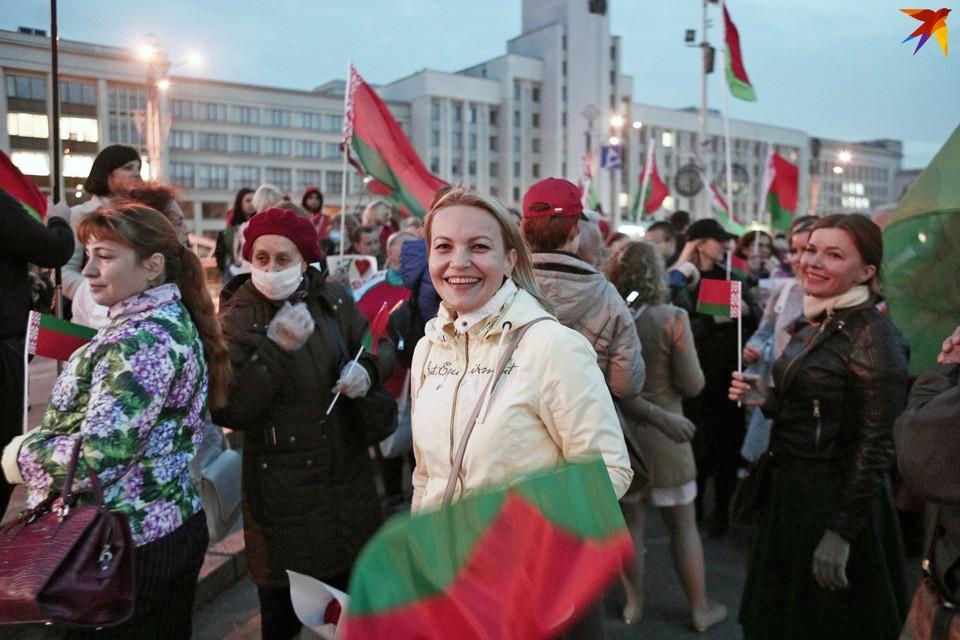 Планировалось, что участники митинга соберутся у стелы «Минск - город-герой».