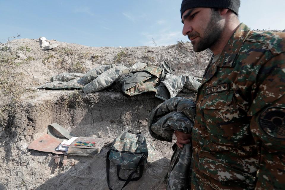 Армянский солдат.