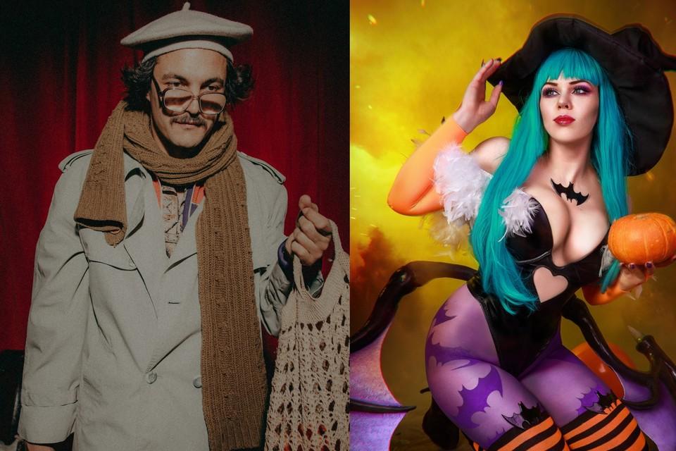 Костюмы героев Лапенко и ведьмочки будут актуальными в 2020 году. Фото: Маша Благо (слева) и Евгений Накрышский (справа)