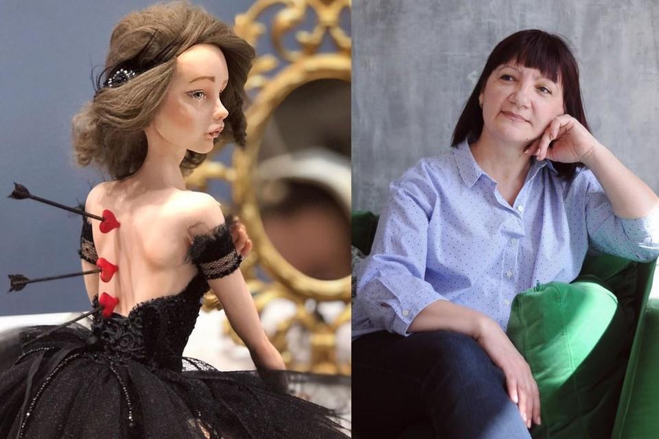 Сибирячка делает кукол уже 13 лет. Фото: личный архив героя.
