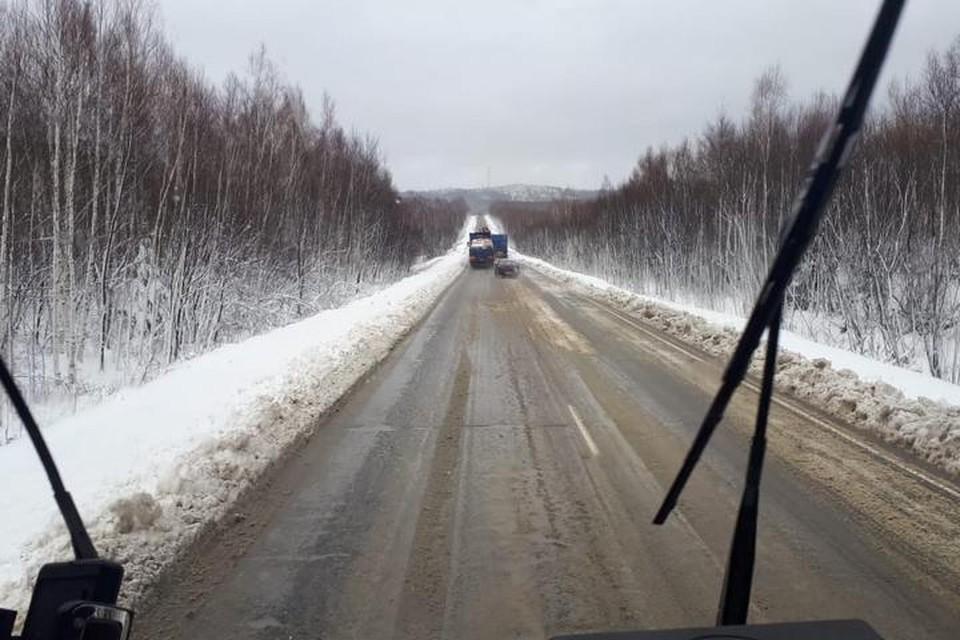 В Хабаровском крае сняты ограничения на движение по дороге Хабаровск-Лидога-Ванино