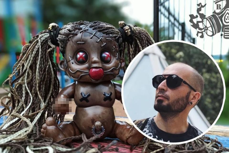 Александр создает маски 10 лет. Фото: личный архив героя
