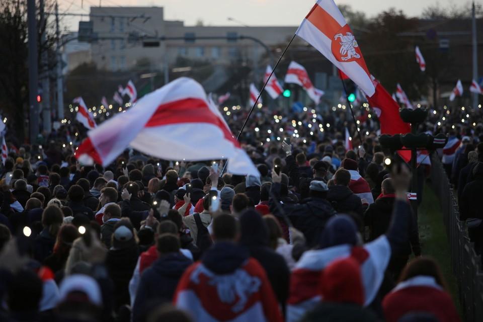 Мы собрали последние новости о протестах в Белоруссии на 26 октября 2020 года