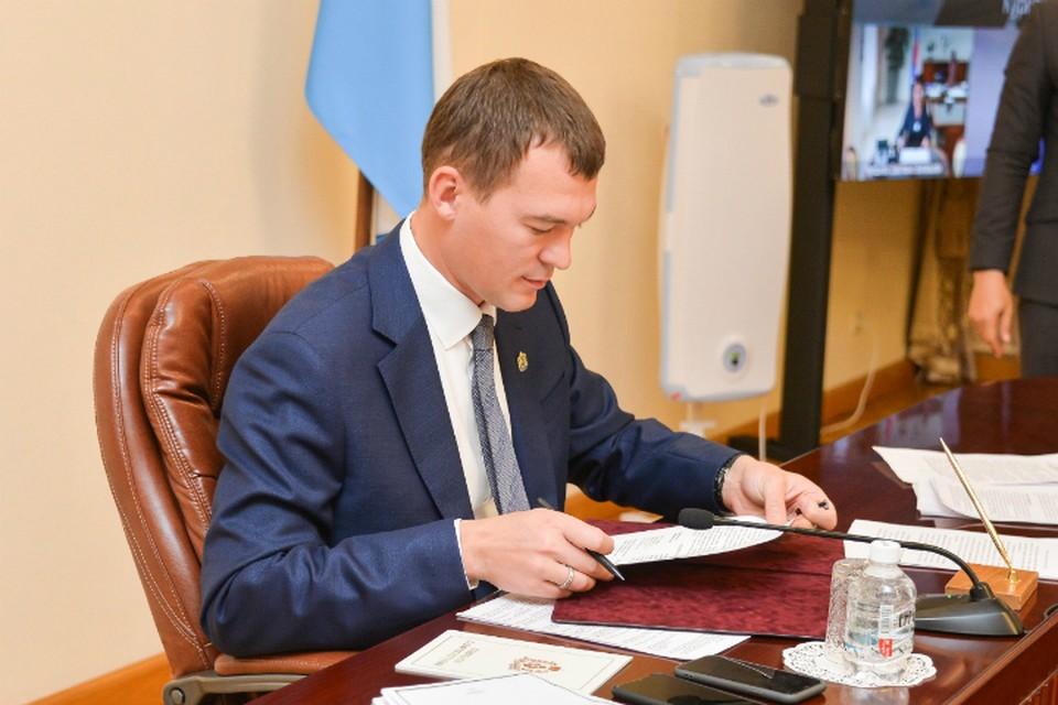 Михаил Дегтярев подписал соглашение о сотрудничестве с Агентством стратегических инициатив