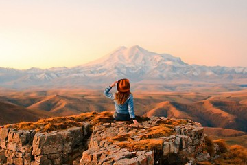 Яркая осень в горах: самые красочные фото для отличного настроения