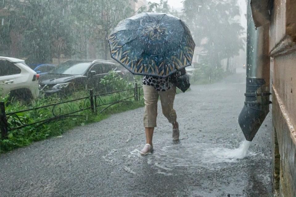 В воскресенье ростовчан настигнет настоящий ливень.