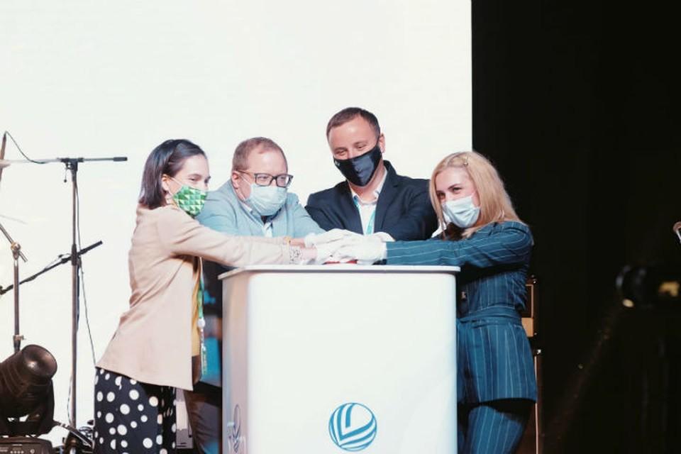 Запуск автоматизированной системы «Молодые соотечественники». ФОТО: Медиаслужба Международного молодежного форума Евразия Global