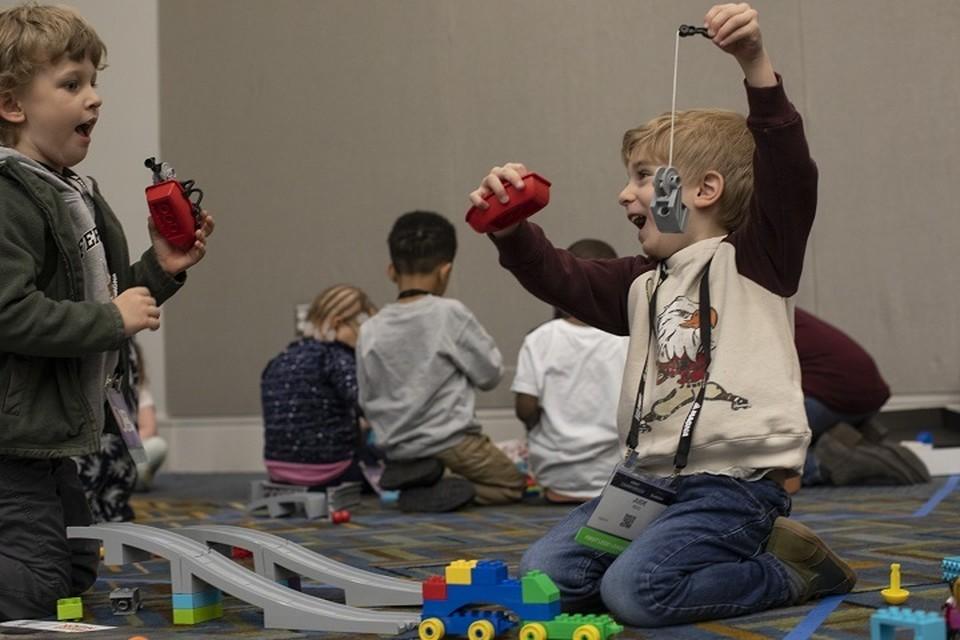 Фото Lego Education .