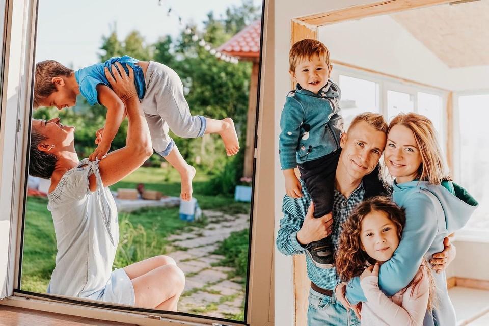 Екатерина Кузнецова смогла построить большую семью, несмотря на диагноз. Фото: предоставлено Екатериной Кузнецовой/www.instagram.com/spottykit