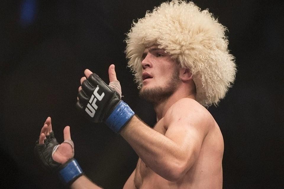 Хабиб Нурмагомедов стал лучшим бойцом вне категорий