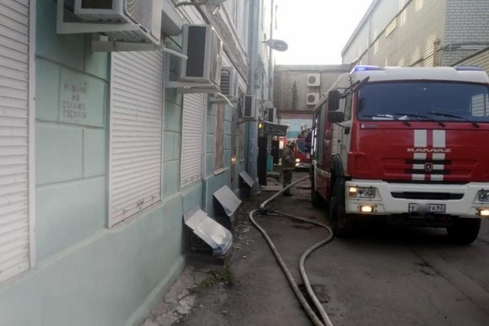 29 октября пожарные действовали решительно. Фото: сайт регионального ГУ МЧС.