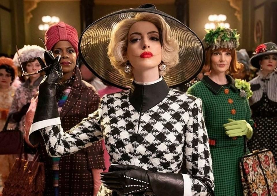 Энн Хатауэй — недостаточно злая, чтобы быть ведьмой!