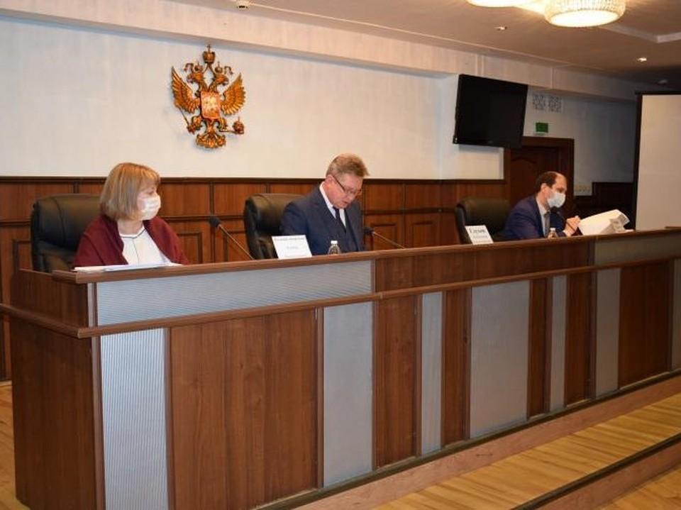 Состоялось заседание квалификационной коллегии судей