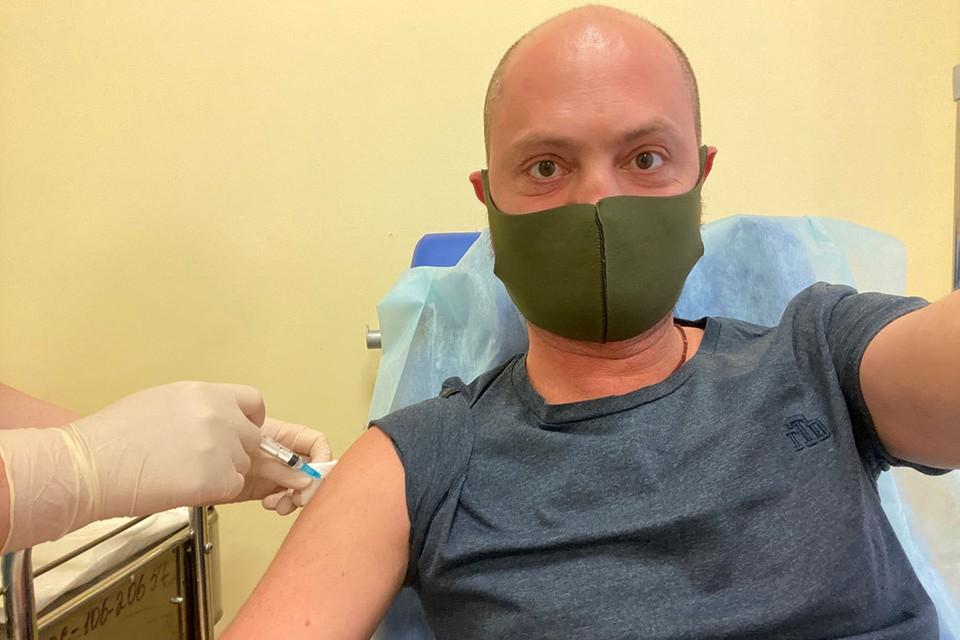 Спецкор kp.ru Александр Коц описывает свои ощущения после прививки