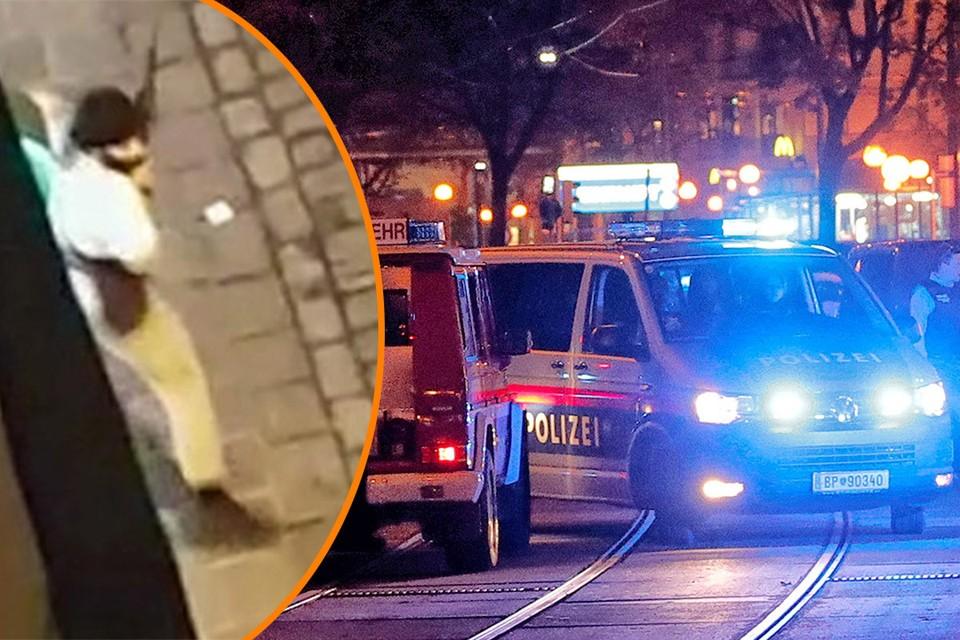 Вооруженные террористы устроили стрельбу по прохожим в центре Вены.